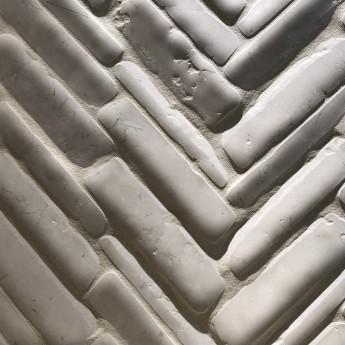 Timeworn Mosaic Bianco Antico Marble